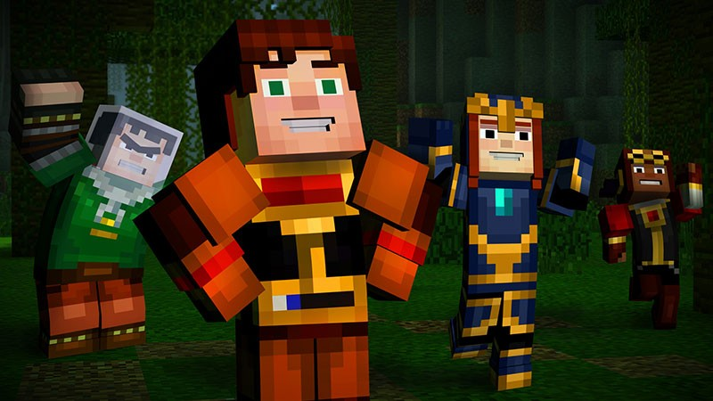 Minecraft: Story Mode is Telltale's bestselling game of all time, beating out even the company's crown jewel, The Walking Dead