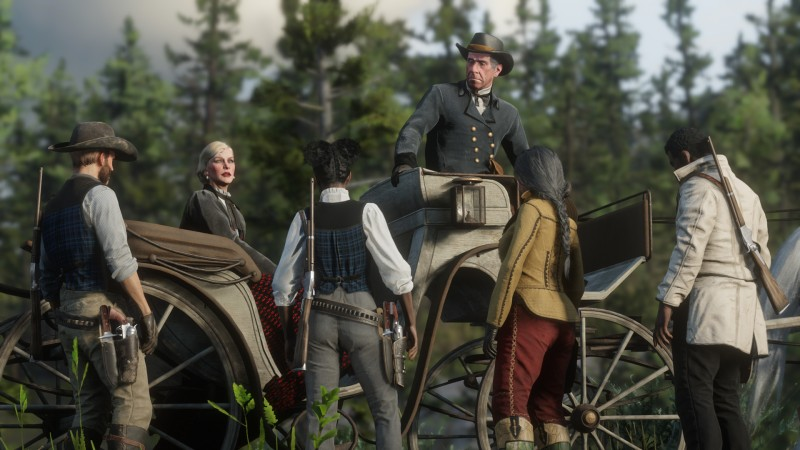 Massive Red Dead Online Update Includes New Story Missions, Poker