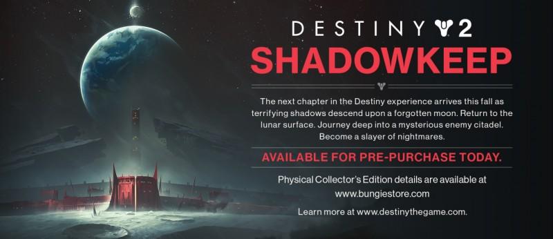 Destiny 2 Shadowkeep Expansion