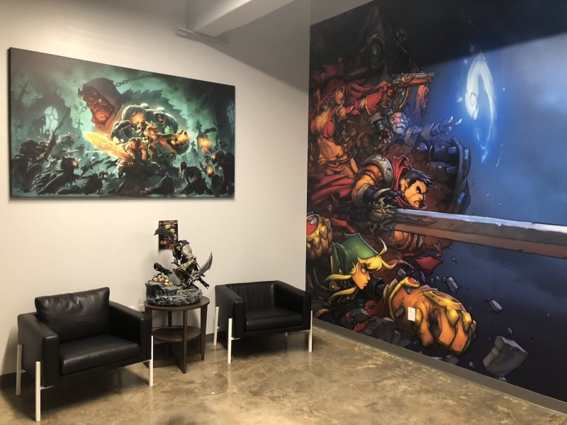 A Quick Photo Tour Of Darksiders Genesis Developer Airship Syndicate's Studio