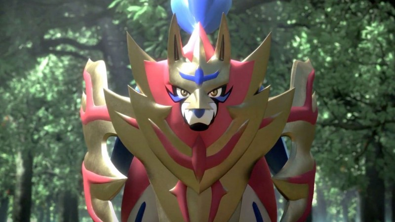 Zacian And Zamazenta Are Pokémon Sword & Shield's ... A Wild Pokemon Appears