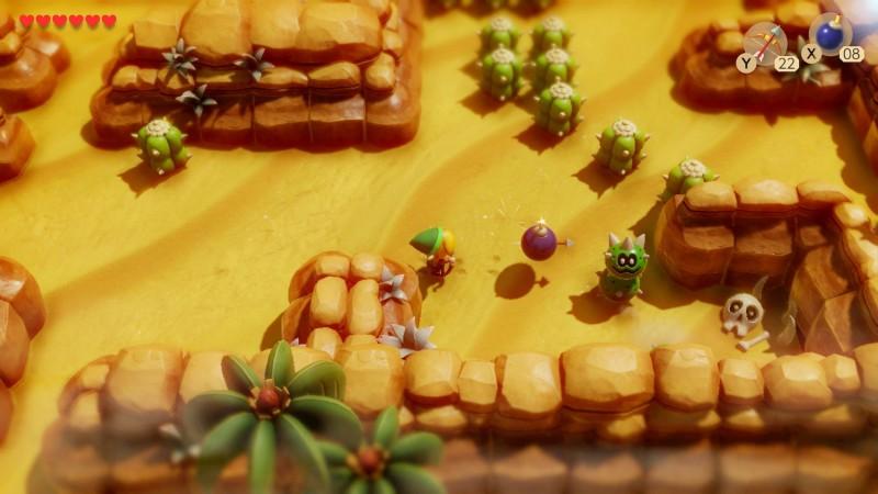 link's awakening review - gameplay