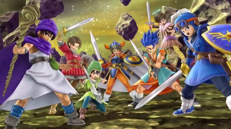A Smash Bros  Rundown Of The Dragon Quest Hero - Game Informer
