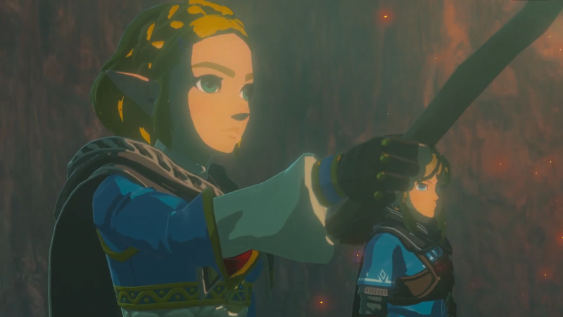 Everything We Noticed From The Zelda Breath Of The Wild Sequel Teaser Game Informer
