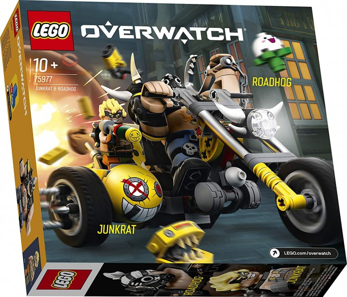 new overwatch lego sets include wrecking ball and junkrat
