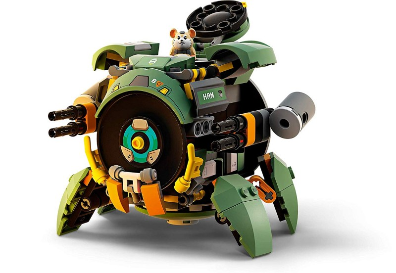 New Overwatch LEGO Sets Include Wrecking Ball And Junkrat - Game