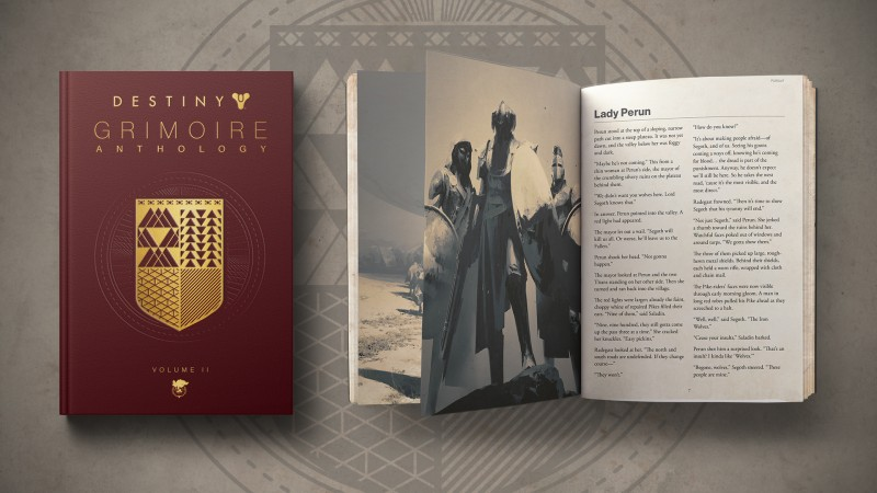 Second Volume Of Destiny Lore Book Coming In October