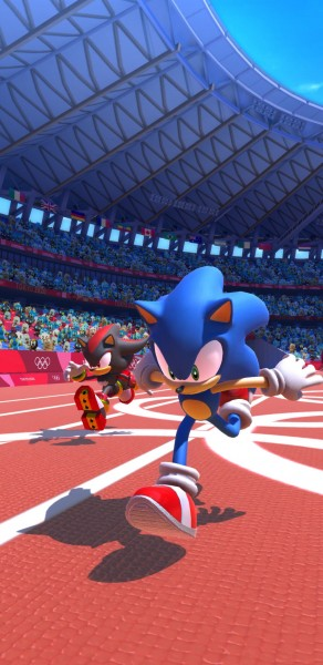 Sonic At The Olympic Games Lets You Save Tokyo By Clearing Literal