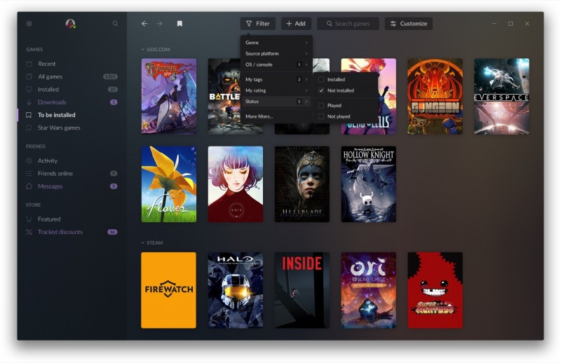 GOG Galaxy 2 0 States Its Case To Be Your One PC Library To