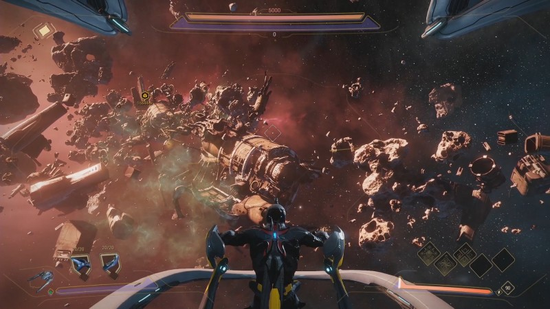 Warframe Unveils New Ship Combat Expansion, Open-World Area