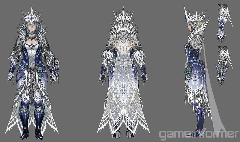 Velkhana S Female Armor Monsterhunterworld