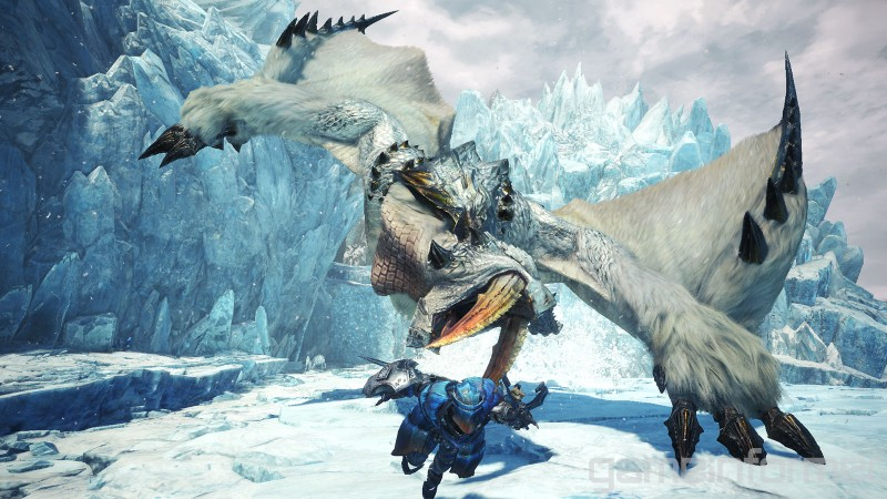 Watch Us Hunt Barioth In Monster Hunter World Iceborne Lurkit
