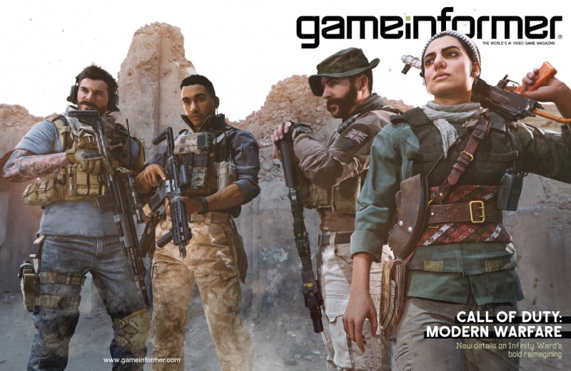 September Cover Revealed – Call of Duty: Modern Warfare