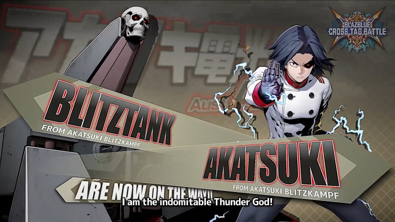 BlazBlue: Cross Tag Battle Adds A Literal Tank In November 2 0