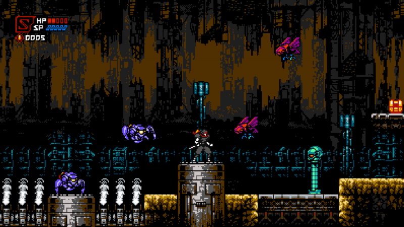 Cyber Shadow Is An Indie Action Game That Wears Its Ninja Gaiden And Contra Influence On Its Sleeve