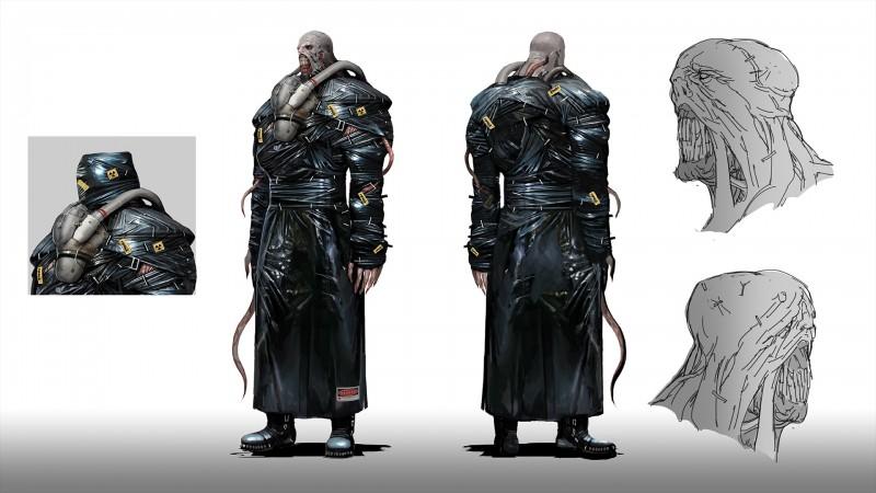 How Resident Evil 3 Made Nemesis Scarier Than Mr X Game Informer