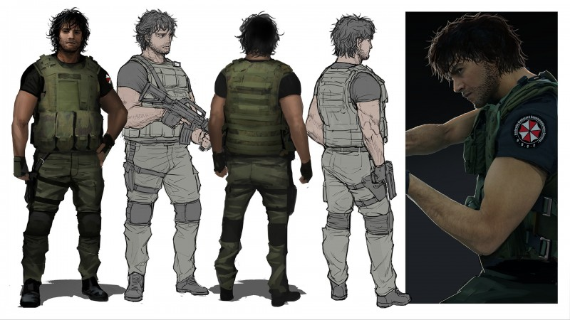 Exclusive Impressions Of Carlos In Resident Evil 3 Game Informer