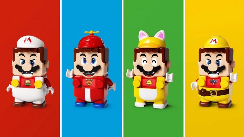 Lego présente de nouveaux packs de super Mario Power-Up 2