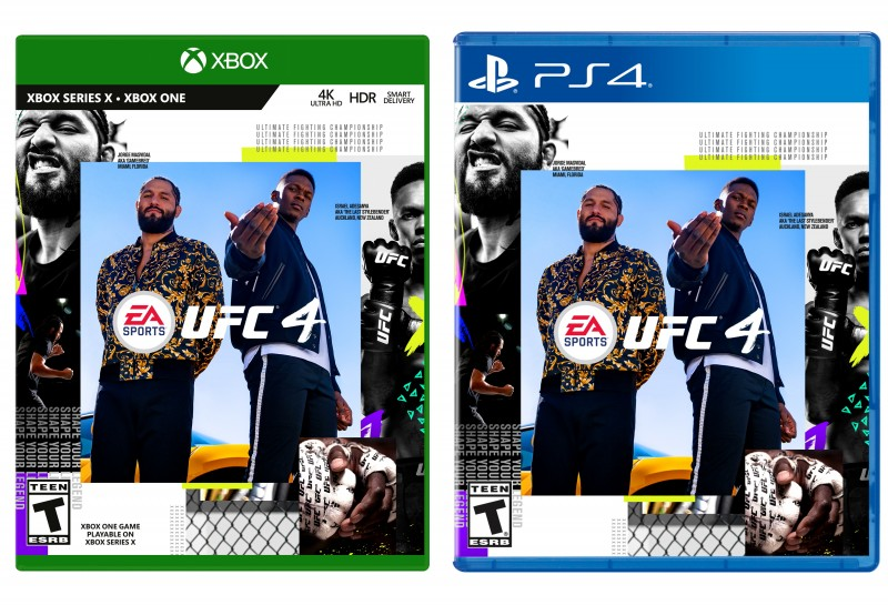 Ea Sports Ufc 4 Releases In August Jorge Masvidal And Israel Adesanya Are The Cover Athletes Game Informer