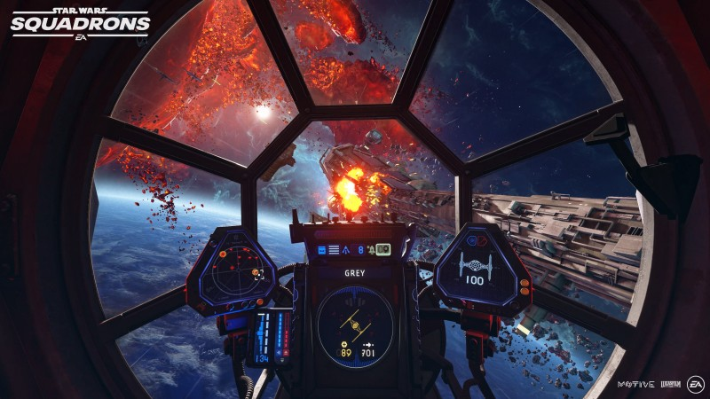 screens game tieaction - Star Wars: Squadrons Review – Roaring With Excitement