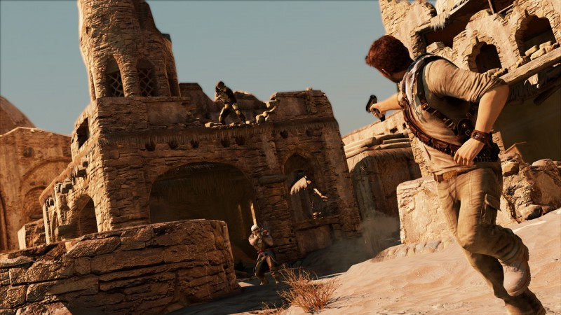 Watch Five Minutes Of Amazing Uncharted 3 Gameplay Game Informer