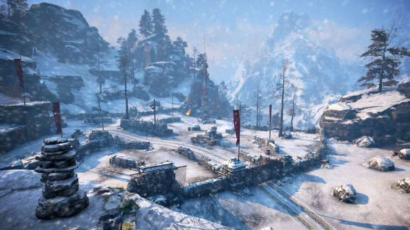 Far Cry 4 Valley Of The Yetis Review Walking Among Giants