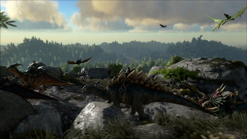 Dodging Dinos And Dying In Ark: Survival Evolved - Game Informer
