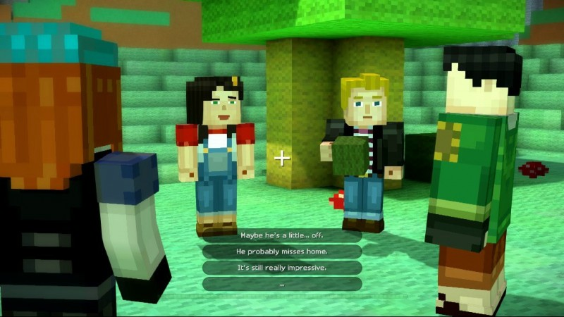 Minecraft Story Mode Episode 3 Review The Right Direction