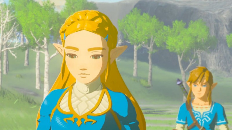 Everything We Know About Princess Zelda In Breath Of The Wild Game Informer