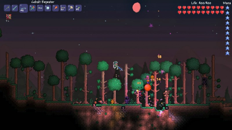 Terraria Review: Building Your Own Fun In A Dangerous World