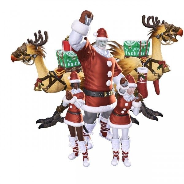 Here's What Christmas Looks Like In Final Fantasy XIV