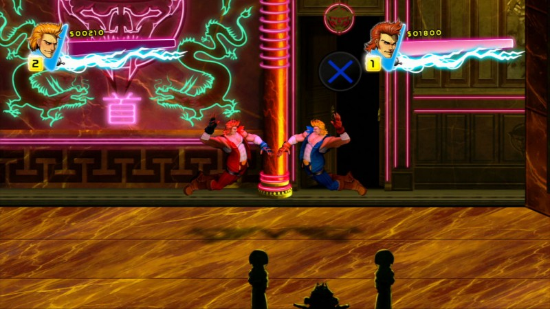 Double Dragon Neon Review The Lee Brothers Rescue Marian And
