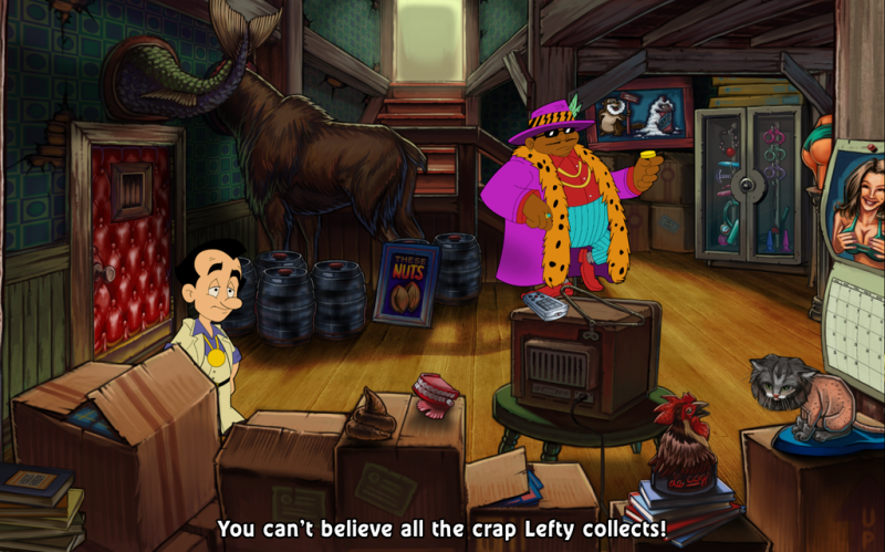 Leisure Suit Larry: Reloaded Review – Larry Laffer Rides