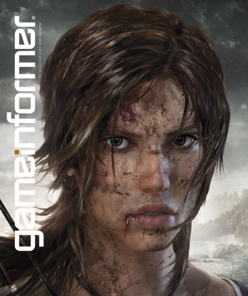 Front Cover with Lara Croft, Tombraider