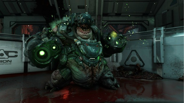 Doom Review – A Bloody Welcome Rebirth - Game Informer