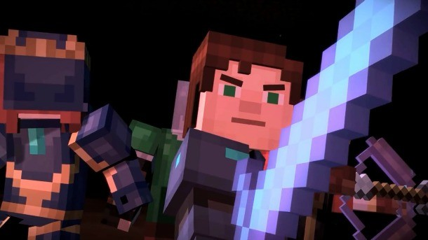 Elegant At The End Of The Last Episode Of Minecraft: Story Mode, Jesse And Friends  Banded Together To Form The Successor Group To The Legendary Order Of The  Stone.