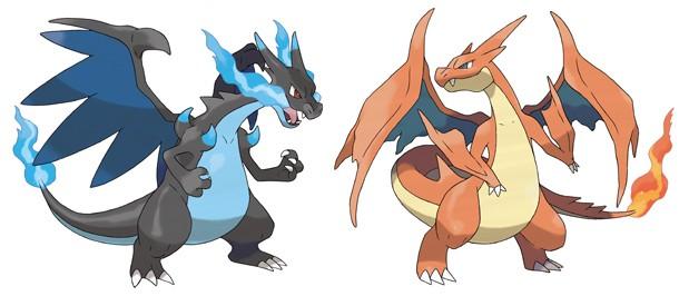 alternate mega evolution revealed for charizard in new pokémon x y