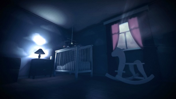Among the Sleep puts players into the shoes (footie pajamas?) of a two-year  old exploring a creepy house, and it looks terrifying.