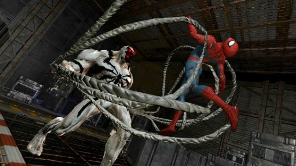 anti venom could kill spider man in edge of time game informer