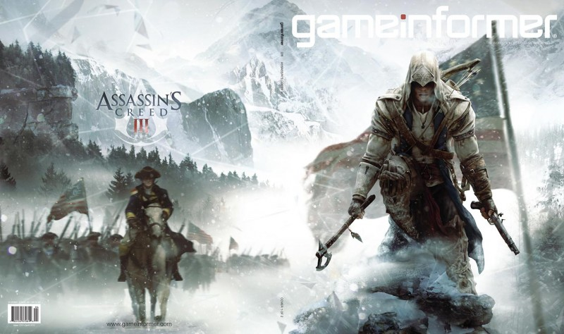 April Cover Revealed: Assassin's Creed III - Game Informer
