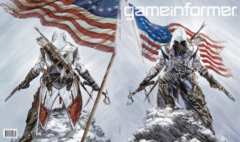 3b084598c6b April Cover Revealed  Assassin s Creed III - Game Informer