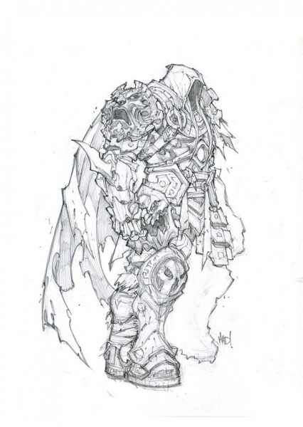 Art Of War Creating Darksiders Protagonist Game Informer