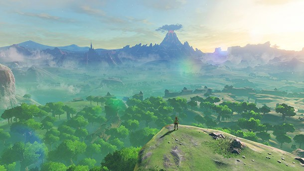 Breath Of The Wild Player Maps Entire Journey Onto Poster Game