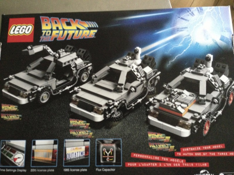 Brick By Brick - LEGO Back To The Future Delorean - Game
