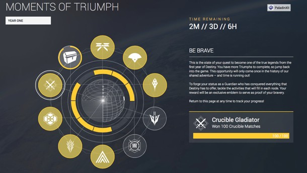 Bungie Celebrates Destiny's First Year With Prize For Loyal Players
