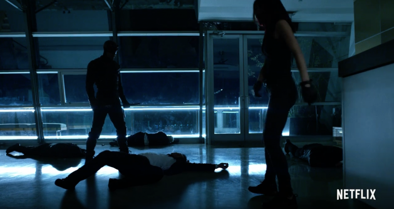 Daredevil And Elektra Square Off Against The Hand In Season