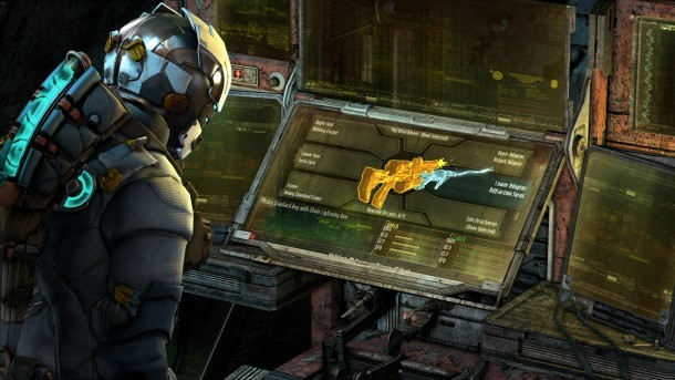 Dead Space 3 Preview Isaac S Weapon Crafting Gets Creative Game