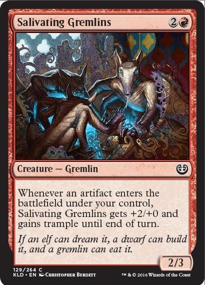 exclusive magic the gathering kaladesh gremlins preview game informer