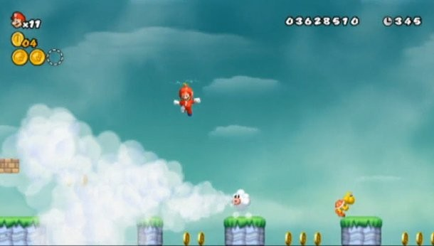 Exclusive Video From New Super Mario Bros Wii - Game Informer