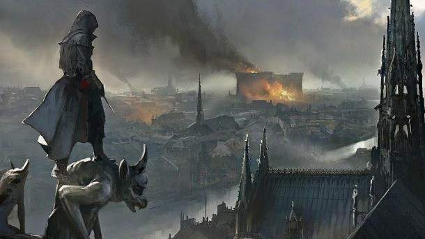 Exploring The Concept Art Of Assassin S Creed Unity Game Informer